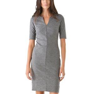 Diane Von Furstenberg Grey Aurora Shift Dress